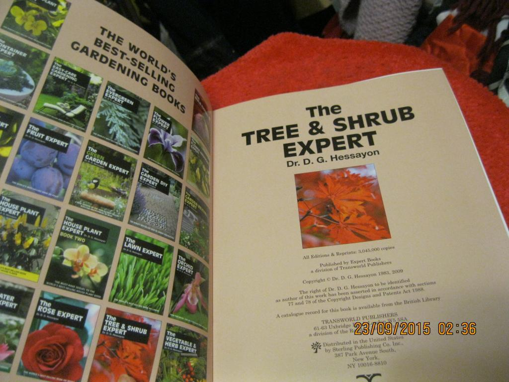 tree and shrub expert d.g. hessayon Buy a cheap copy of the tree & shrub expert book by dg hessayon 128 pages (all in color), 7 1/4 x 9 1/2 free shipping over $10.