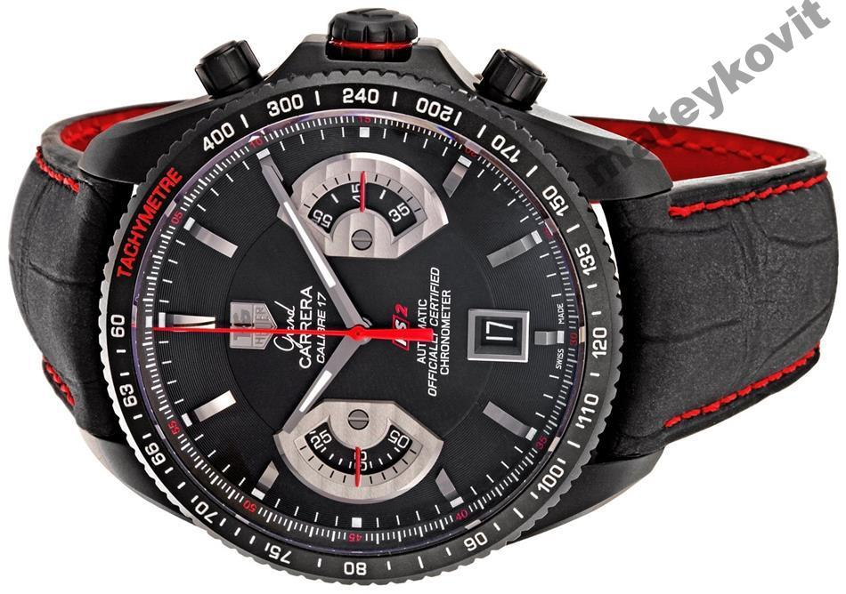 часы мужские tag heuer grand carrera calibre 17 сила звучания