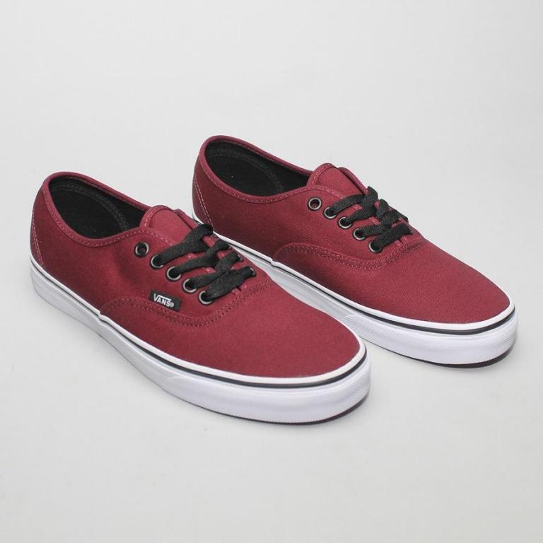 Кеди Vans Authentic Bordo 9 dcefddc4a6c3c