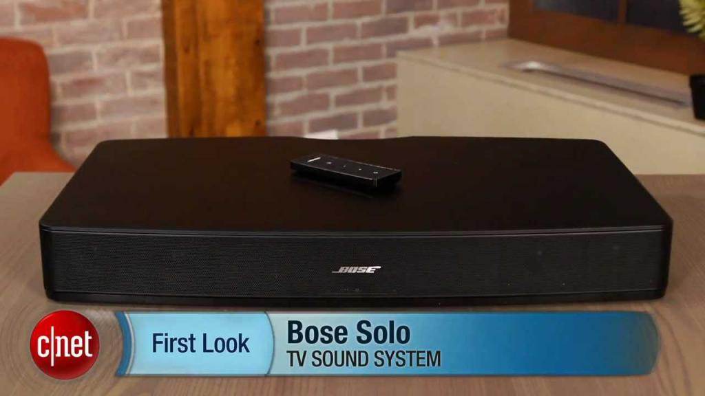 Саундбар Bose Solo TV sound system