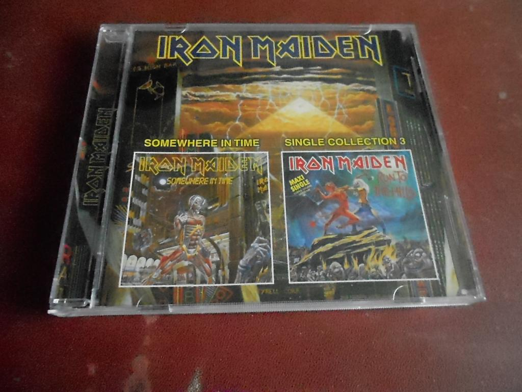 Iron Maiden Somewhere In Time Single Collection 3 Cd бу