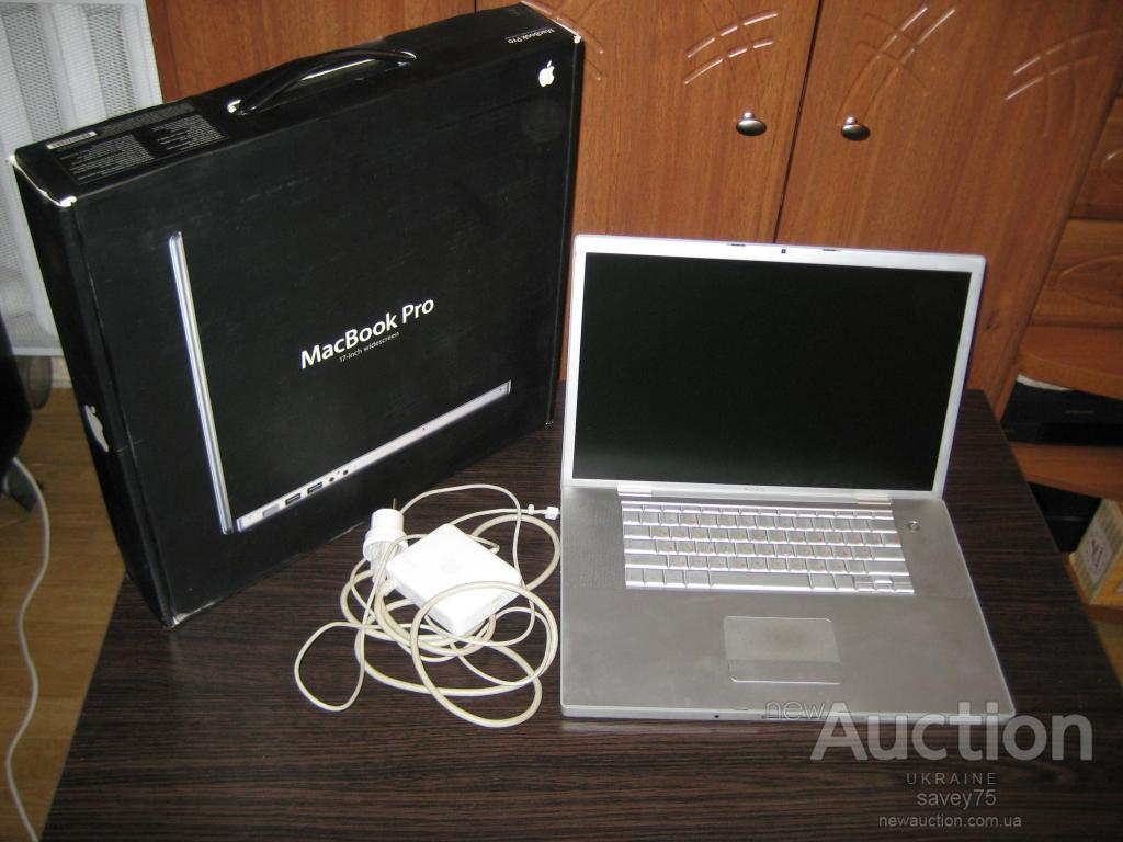 "Ноутбук Apple MacBook Pro, A1151, Core Duo 2.16, 17"", 200Gb 5400, 2Gb DDR2, ATI Mobility X1600"
