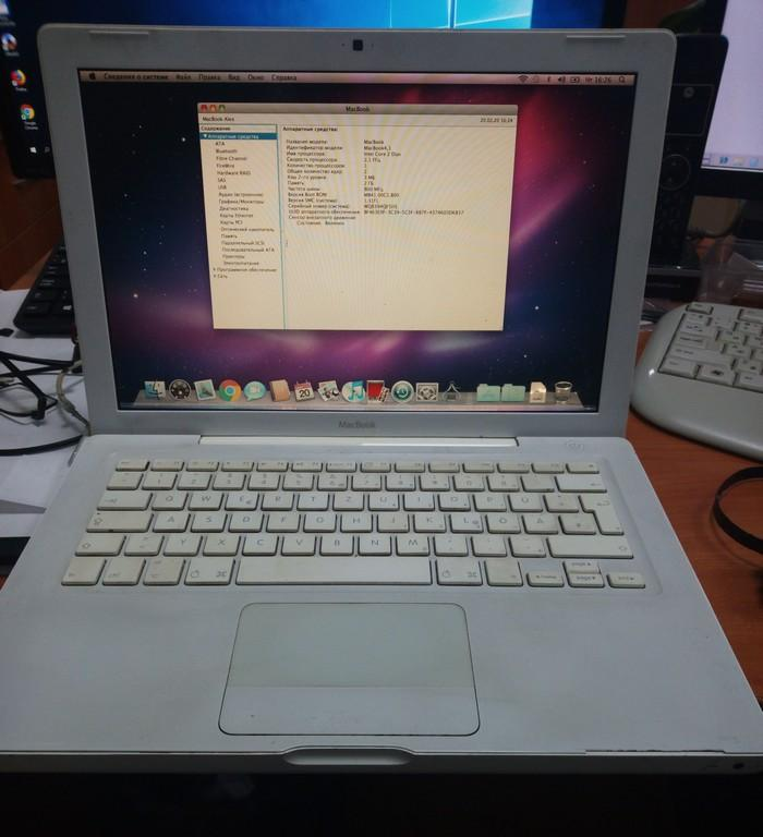 "MacBook A1181  (13.3"", Intel Core 2 Duo 2.1GHz/RAM 2Gb/HDD 250Gb) (D*)"