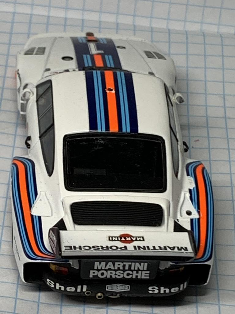 Porsche 935 Martini Racing Icks Mass Winner Dijon 1976 Minichamps 1:43